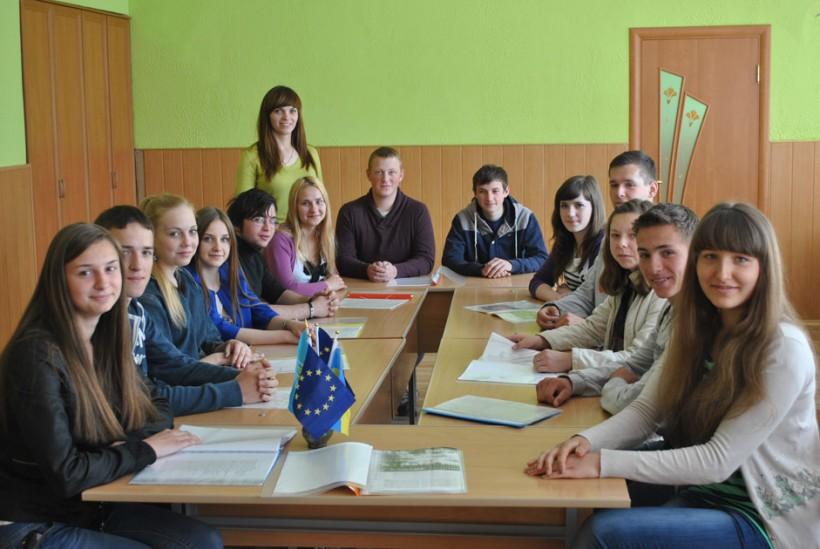 Українській молоді – Європейські цінності